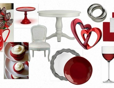 'Get the Look' – Valentine's 'Pastels or Reds' Home Touches