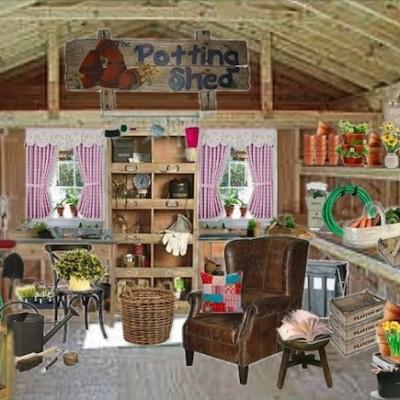 Olioboard Inspiration: Organizing your Spring Potting Shed