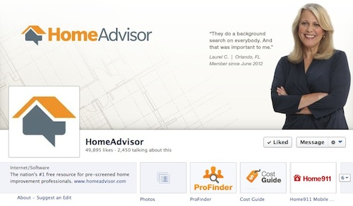Completed my home spring maintenance with homeadvisor for Home advisor