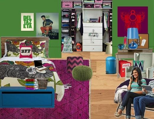 Olioboard Inspiration – 'Easy Dorm Room Organization'