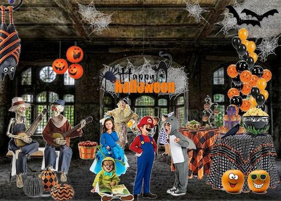 Olioboard Inspiration – Festive Kids' Halloween Costume Party