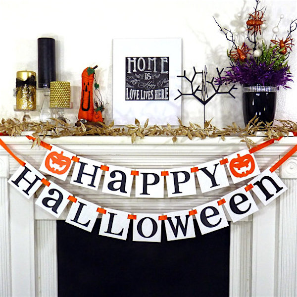 halloween decorations banner