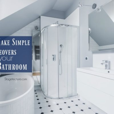 Simple Makeovers to Improve your Small Bathroom