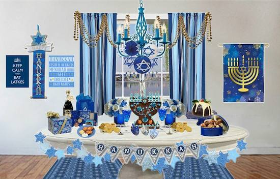 Decorating For Hanukkah