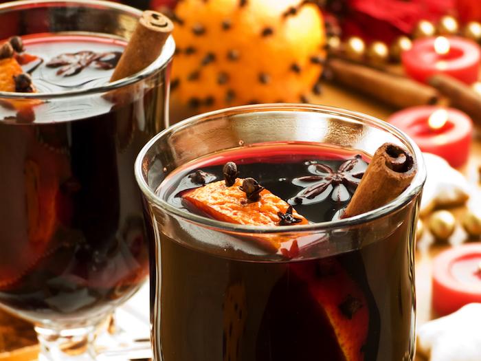 Warm Holiday Orange Mulled Wine Recipe