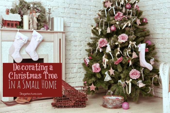 decorating with a christmas tree in your small home