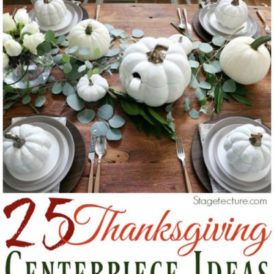 25 Beautiful Yet Easy DIY Thanksgiving Centerpiece Ideas