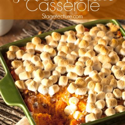 Thanksgiving Sides: Southern Sweet Potato Casserole Recipe