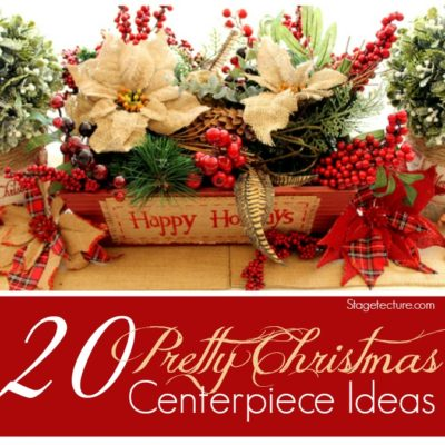 20 Christmas Centerpieces: Ideas for your Dining Room