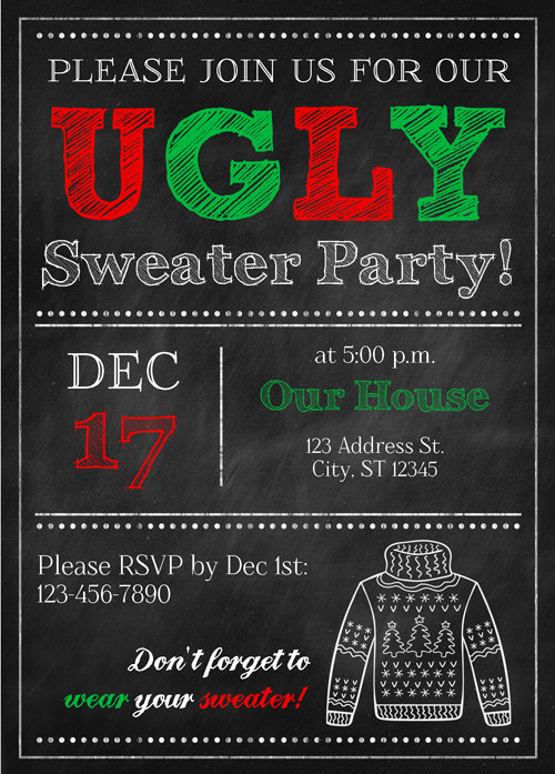 christmas-party-invitation-ideas-ugly-sweater