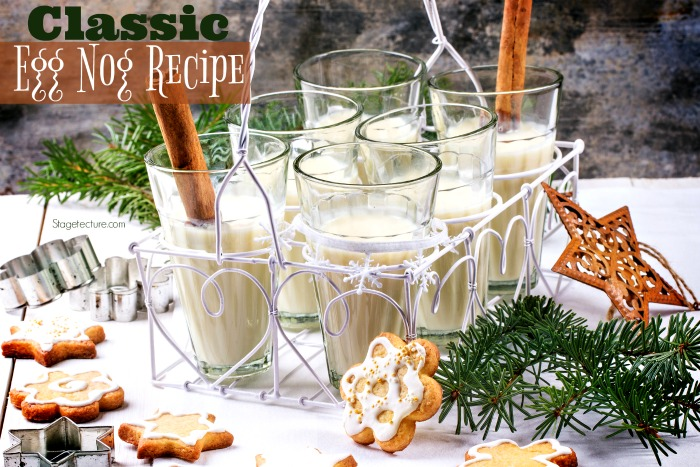 How to Make a Classic Holiday Egg Nog Recipe