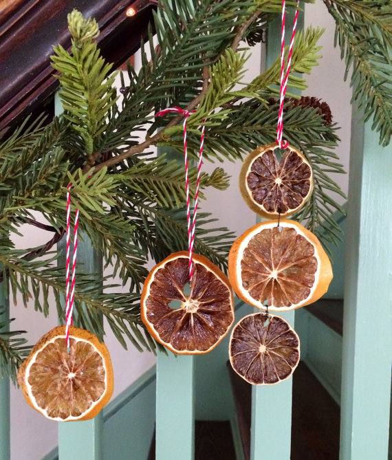 Christmas Decorations How To Make Dried Fruit Ornaments