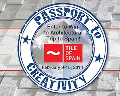Tile of Spain Contest_Passport