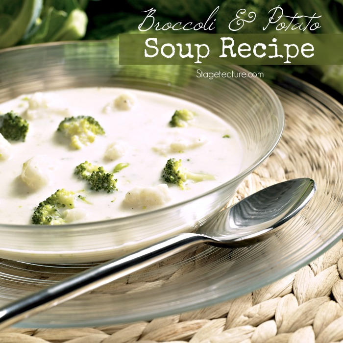 broccoli and potato soup recipe