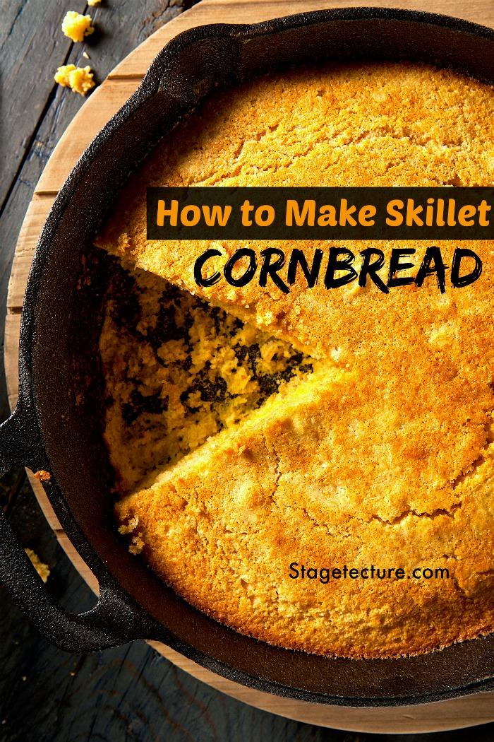 how to make cornbread recipe