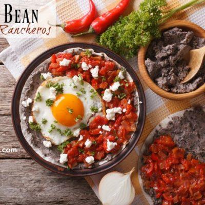 Sunday Brunch: Black Bean Huevos Rancheros Recipe