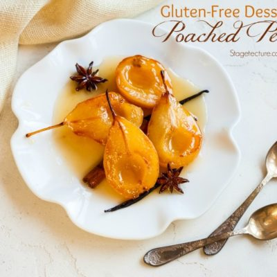 Gluten Free Desserts: Delicious Poached Pears Recipe