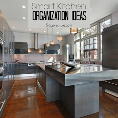 Smart Kitchen Organization Ideas for your Spring Home