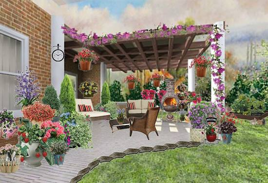Olioboard Inspiration: Creative Spring Outdoor Home Ideas