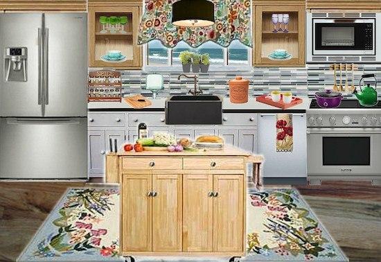 Olioboard Inspiration: Bringing Fresh Spring into your Kitchen Design