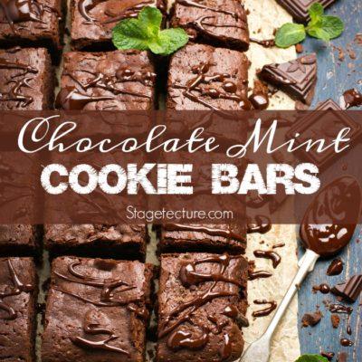 St. Patrick's Day Desserts: Chocolate-Mint Cookie Bars Recipe