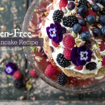 How To Make Gluten Free Berry Pancake Recipe