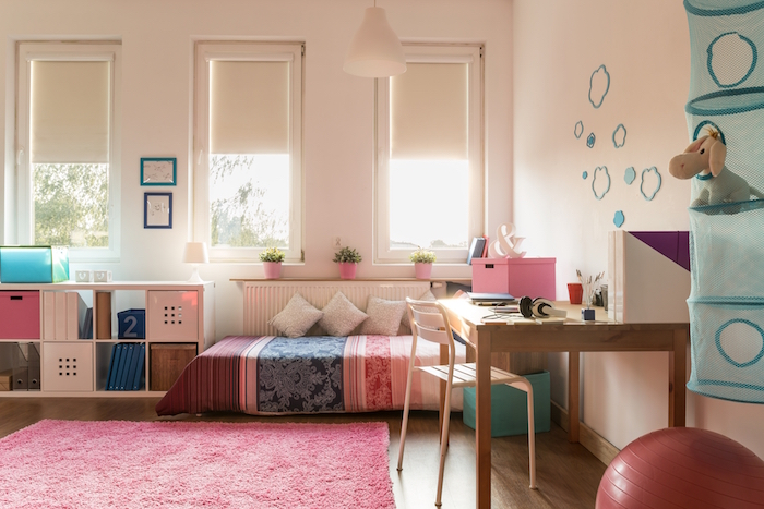 How to create a shared guest room and playroom for Jugendzimmer young users