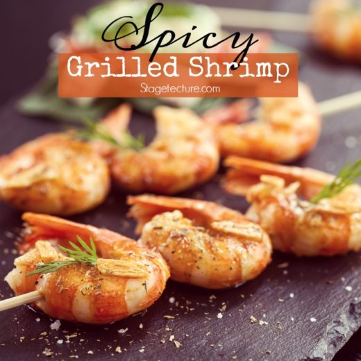 How to Make BBQ Grill Spicy Shrimp Skewers Recipe