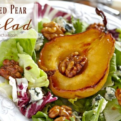 Healthy Dinner: How to Make Roasted Pear Salad Recipes