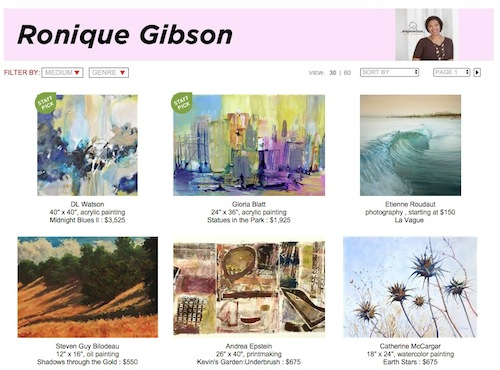 UGallery_Ronique Gibson_Stagetecture Curator
