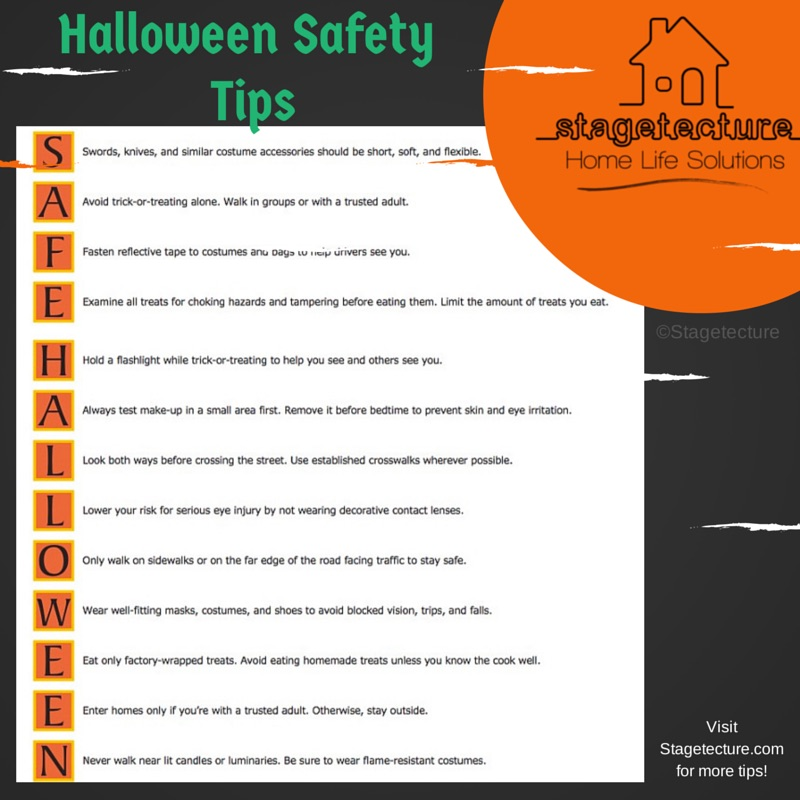 Stagetecture Halloween Safety Tips