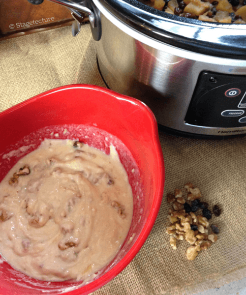 Stagetecture SlowCooker Dutch Apple Pudding 5