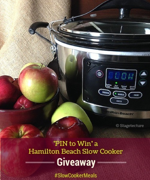 Stagetecture SlowCooker Dutch Apple Pudding _Giveaway