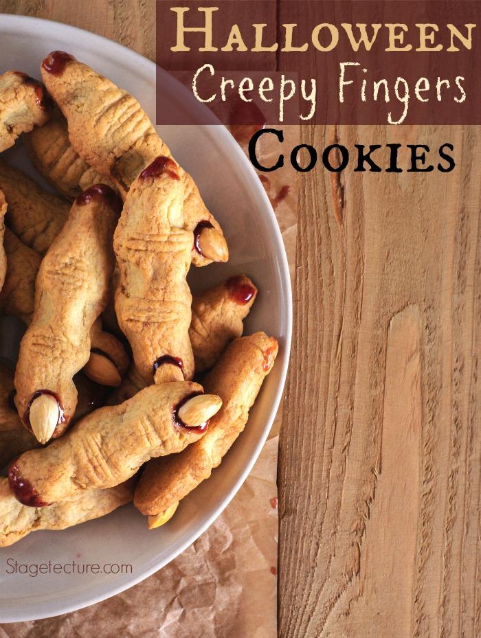 Halloween Party: Creepy Finger Cookies Recipe