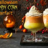 Halloween Dessert: Candy Corn Parfait Recipe
