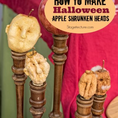 DIY Halloween Craft: How to Make Creepy Shrunken Heads