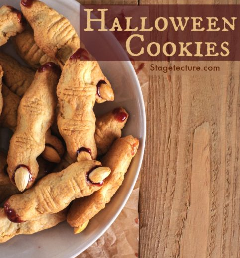 Halloween Party Food: Creepy Finger Cookies Recipe