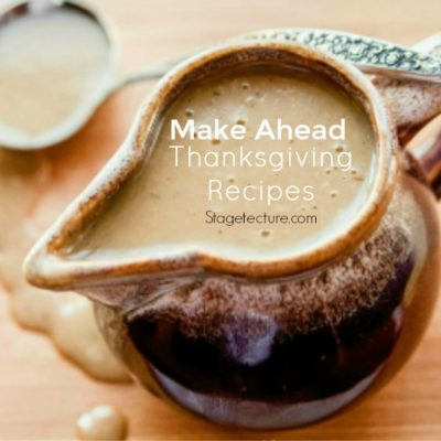 Thanksgiving Dinner: Make-Ahead Turkey Gravy Recipe