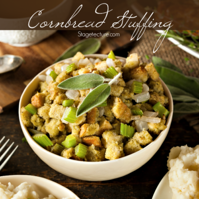Thanksgiving Side Dish: Cornbread Dressing Recipe