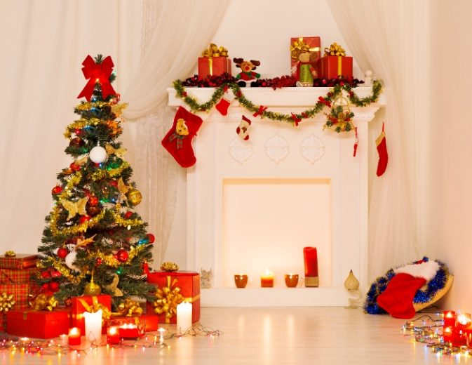 Bathroom Holiday Decor: Christmas Decorating Ideas