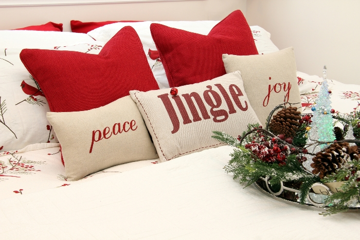 Christmas Guest Room Ideas