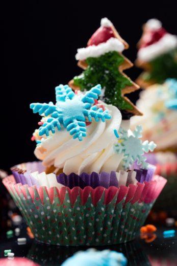 Kids Dessert: Christmas Tree Cupcakes Recipe