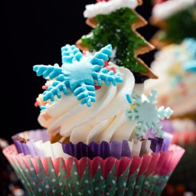 Kids Dessert: Christmas Tree Cupcakes Recipe
