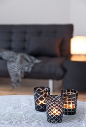 DIY Christmas Gifts: Etched Candle Holders