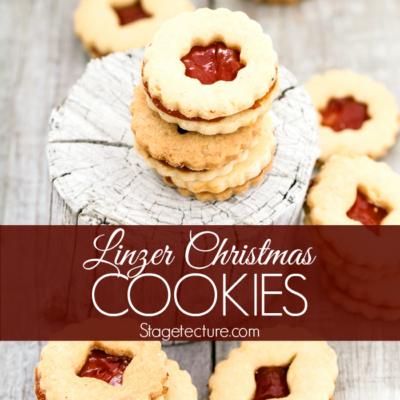 Christmas Cookies: Linzer Cookies Recipe