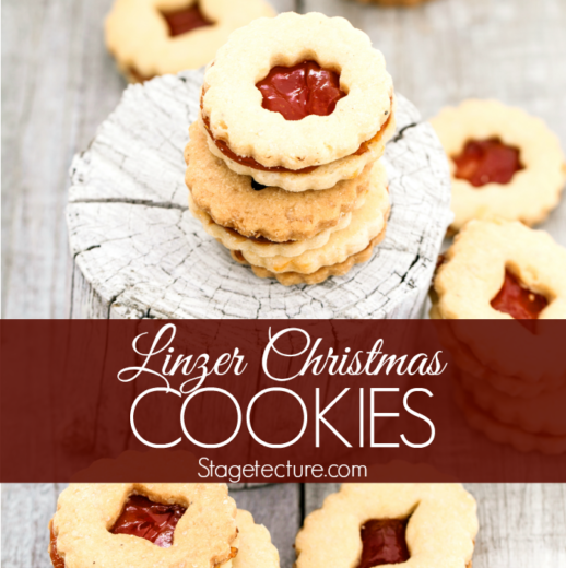 Christmas Cookies: Linzer Cookies Recipe