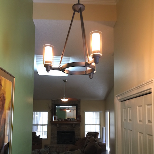Updating My Foyer With Del Mar Fans & Lighting