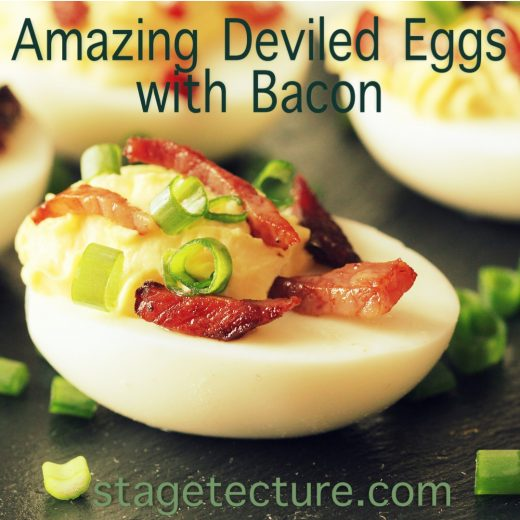Easter Recipe: Amazing Deviled Eggs with Cheese and Bacon