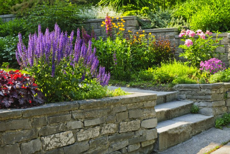 Beautiful Brick Steps
