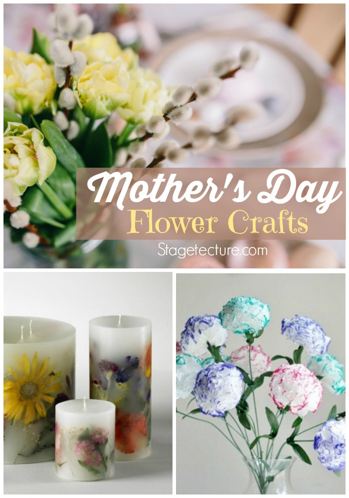 Mothers Day Flowers Crafts
